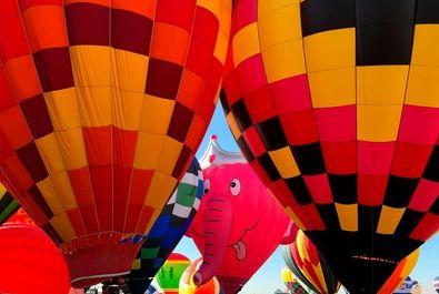 فستیوال بینالمللی بالونها درنیومکزیک آمریک