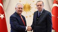 اصرار اردوغان به استرداد گولن در دیدار با تیلرسون