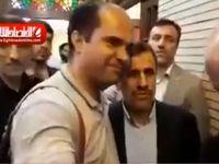 روبوسی احمدینژاد و محسن هاشمی +فیلم