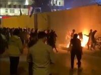 حمله به کنسولگری  ایران در کربلا +فیلم