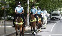 حضور یگان اسب سوار در آنکارا +تصاویر
