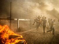حمله هوایی رژیم صهیونیستی به غزه