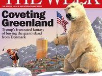 جلد نشریه ویک؛ چشمطمع ترامپ به گرینلند
