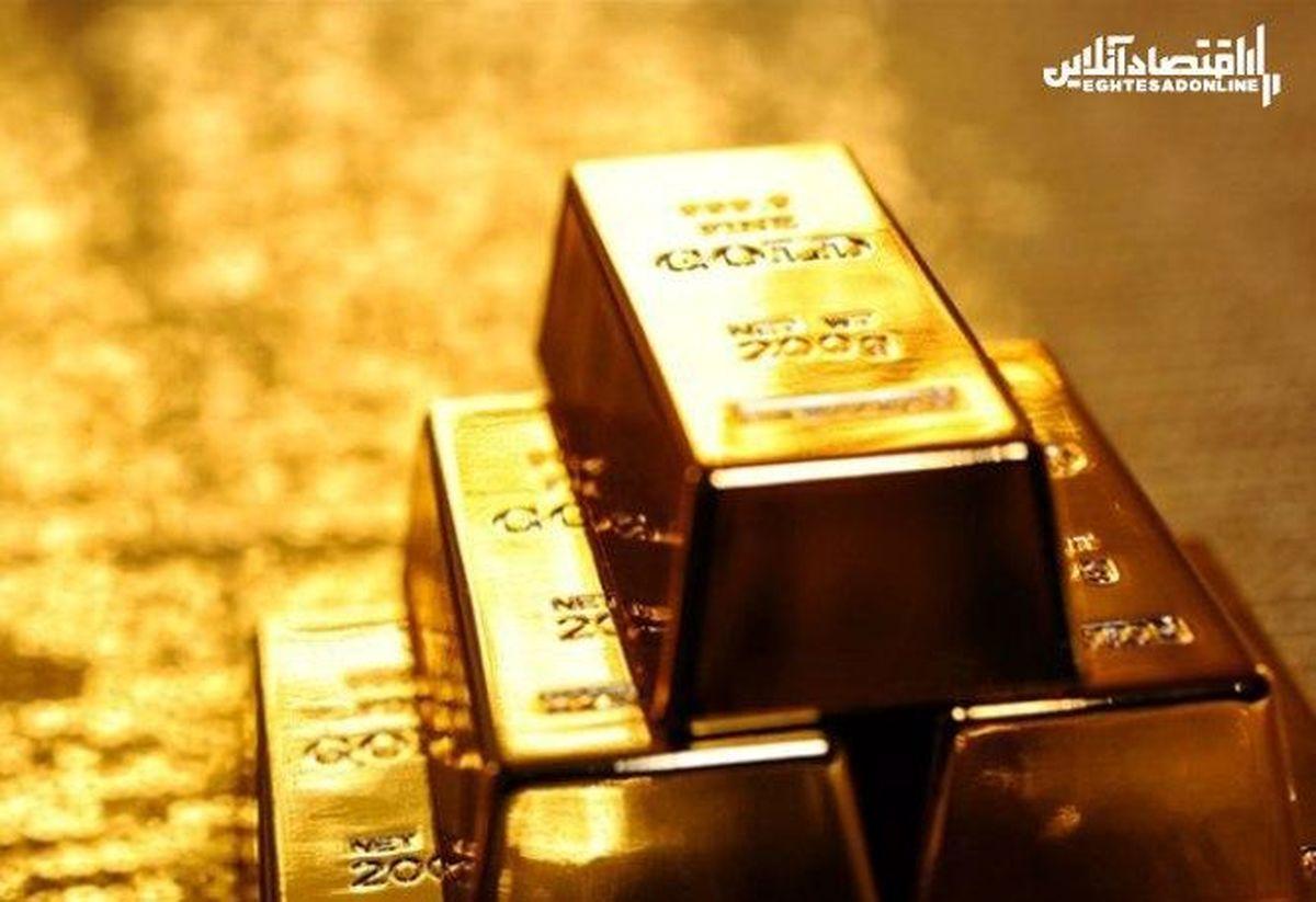 ثبت رکورد 7هفتهای برای طلا