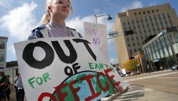 اعتصاب جهانی دانشآموزان علیه تغییرات آبوهوایی +تصاویر