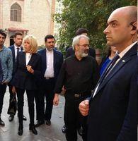 بازدید همسر رئیسجمهور فرانسه از مسجد ایرانی ایروان