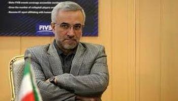 رئیس فدراسیون والیبال استعفا داد