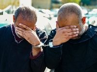 دستگیری سارقان مامورنما +تصاویر