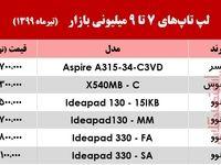 با ۷ میلیون میتوان لپ تاپ خرید؟ +جدول