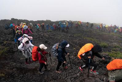صعود به قله باشکوه کوه فوجی