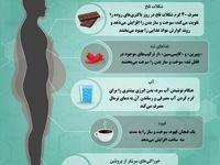 خوراکیهایی که سوختوساز بدن را افزایش میدهد
