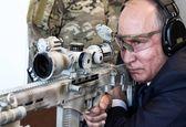 شلیک پوتین با سلاح تکتیرانداز +تصاویر