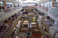 بازار فرش تهران در قاب تصویر