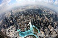 نگاهی به یکی از بلندترین آسمان خراشهای معروف دوبی +تصاویر