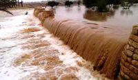 طغیان شدید رودخانه بنت، سیستان و بلوچستان +فیلم
