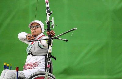 بانوی کماندار نماینده ورزشکاران ایران در موزه المپیک شد