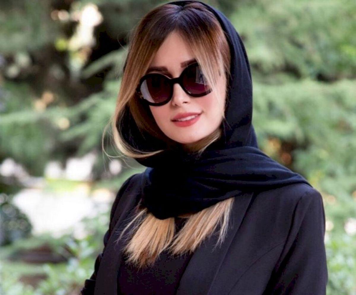 سلفی جدید همسر شاهرخ استخری + عکس