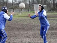 زنان فوتبالیست ملوان +عکس
