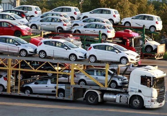 واردات 1000خودرو به قزوین همچنان در ابهام