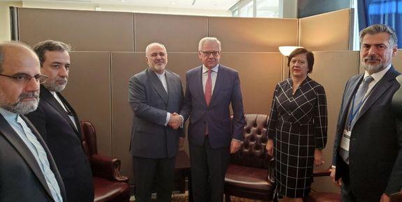 دیدار وزرای خارجه لهستان و استرالیا با ظریف در نیویورک