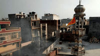 حمله هندوها به مساجد مسلمانان در دهلی +فیلم