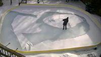 لبخند ژوکوند بر برف و یخ +فیلم