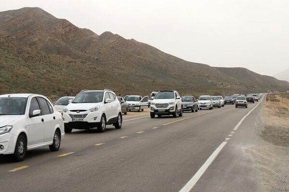 تردد برون شهری ۴۶درصد افزایش یافت