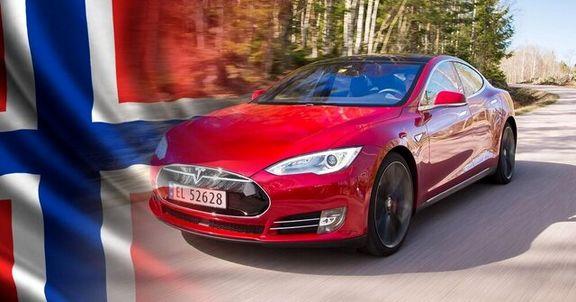 تداوم سلطه خودروهای الکتریکی بر بازار نروژ