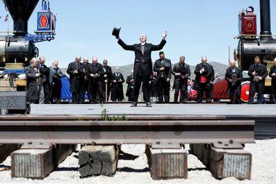 راه آهن سراسری آمریکا 150 ساله شد