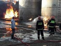 آتش سوزی مرگبار در کارخانه صنعتی