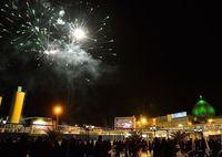 نورافشانی حرم حضرت عبدالعظیم (ع) +تصاویر
