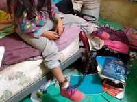 نجات کودکی از شکنجه هولناک +عکس