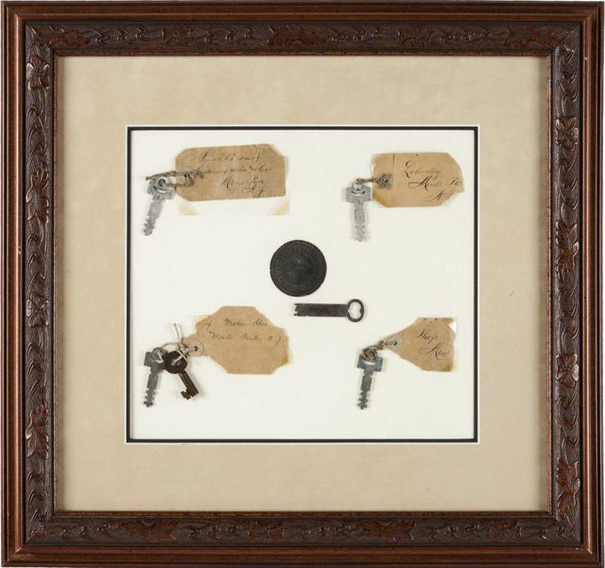 کلید آزمایشگاه ادیسون ۶۰ هزار دلار فروخته شد
