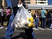 نفت ونزوئلایی در مقابل غذا