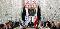 دیدار اعضای شورای شهر تهران با رییسمجلس