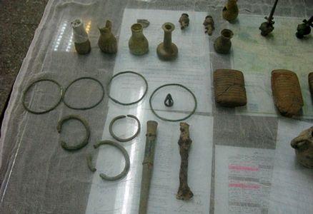 کشف آثار باستانی 1700 ساله در مترو+عکس