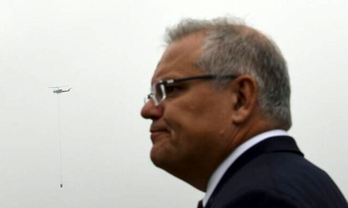 پرتاب گوجه به سمت ماشین نخست وزیر استرالیا
