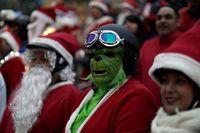 عجیبترین عکسهای کریسمس