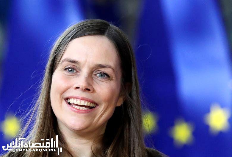 Iceland's Prime Minister Katrin Jakobsdottir, in office since November 30, 2017. REUTERS/Yves Herman