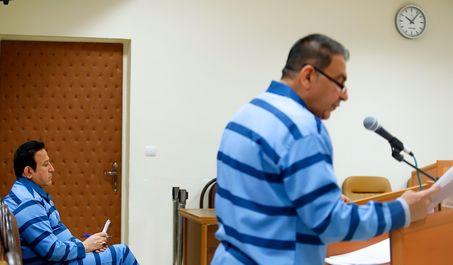 ششمین جلسه رسیدگی به اتهامات حسین هدایتی