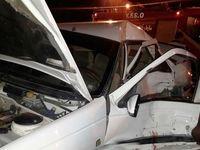 تصادف ۲کشته و یک مجروح برجای گذاشت