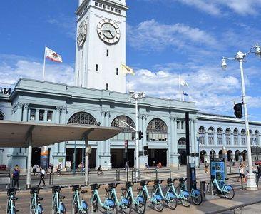 اشتراکگذاری دوچرخه برای گردشگران +عکس
