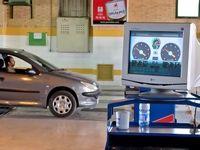 صف طولانی خودروها مقابل مراکز معاینه فنی