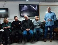 رقیب انتخاباتی نتانیاهو از بیم حمله موشکی به پناهگاه گریخت