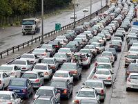 ترافیک سنگین در آزادراههای البرز