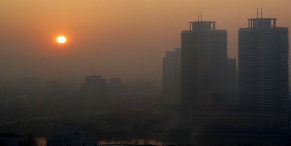 کیفیت هوای تهران قرمز شد