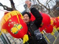 جشن چینی در مرکز لندن! +تصاویر