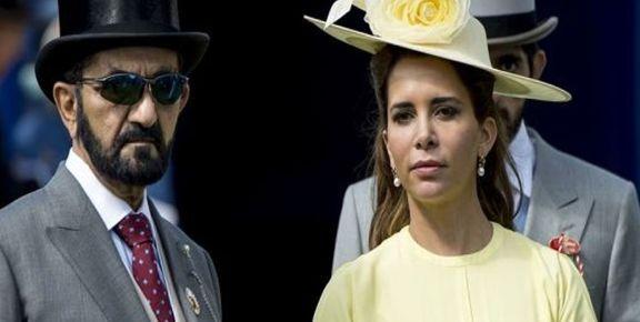 جلسه دادگاه انگلیس در مورد درخواست طلاق همسر حاکم دبی