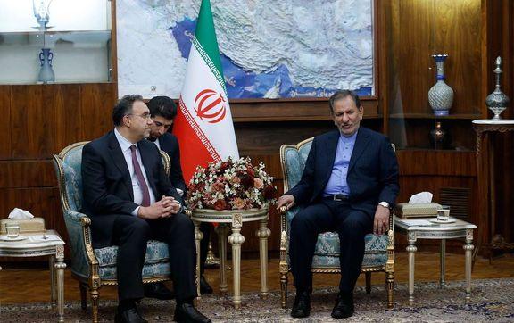 جهانگیری: رابطه تهران و بغداد مستحکم و غیرقابل تخریب است/ افزایش مناسبات اقتصادی بین دو کشور با توسعه همکاریهای بانکی