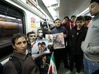 جابجایی بیش از یک میلیون  نفر با متروی تهران در ۲۲بهمن